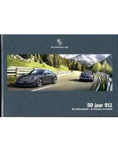 2014 PORSCHE 911 50 YEARS HARDCOVER BROCHURE DUTCH
