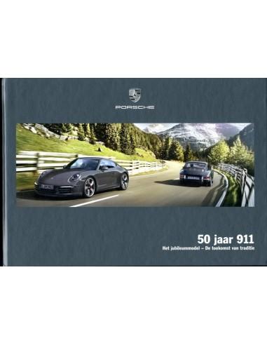 2013 PORSCHE 911 50 JAAR HARDCOVER BROCHURE NEDERLANDS
