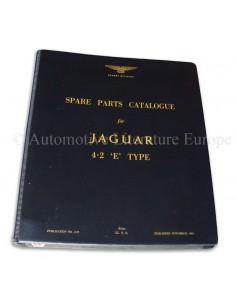 1965 JAGUAR 4.2 E TYPE ONDERDELENHANDBOEK ENGELS