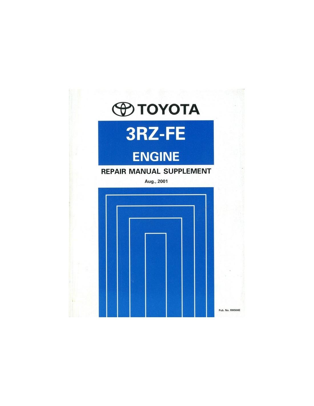 2001 toyota hilux hiace 3rz fe engine repair manual english rh autolit eu Car Repair Manuals Toyota Parts