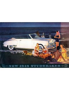 1948 STUDEBAKER COMMANDER & CHAMPION BROCHURE ENGELS