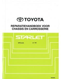 1996 TOYOTA STARLET CHASSIS & CAROSSERIE WERKPLAATSHANDBOEK NEDERLANDS