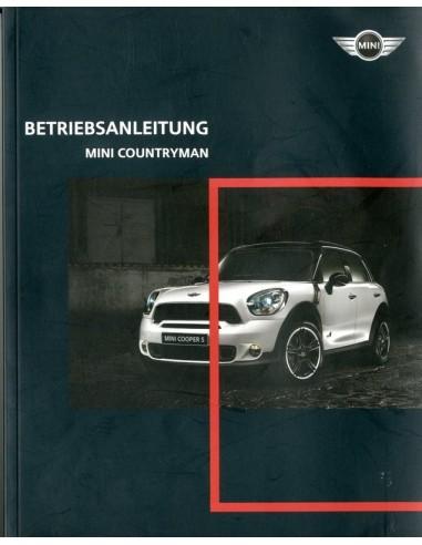 2010 mini countryman owner s manual german rh autolit eu 2010 mini cooper owners manual 2010 mini cooper clubman owners manual