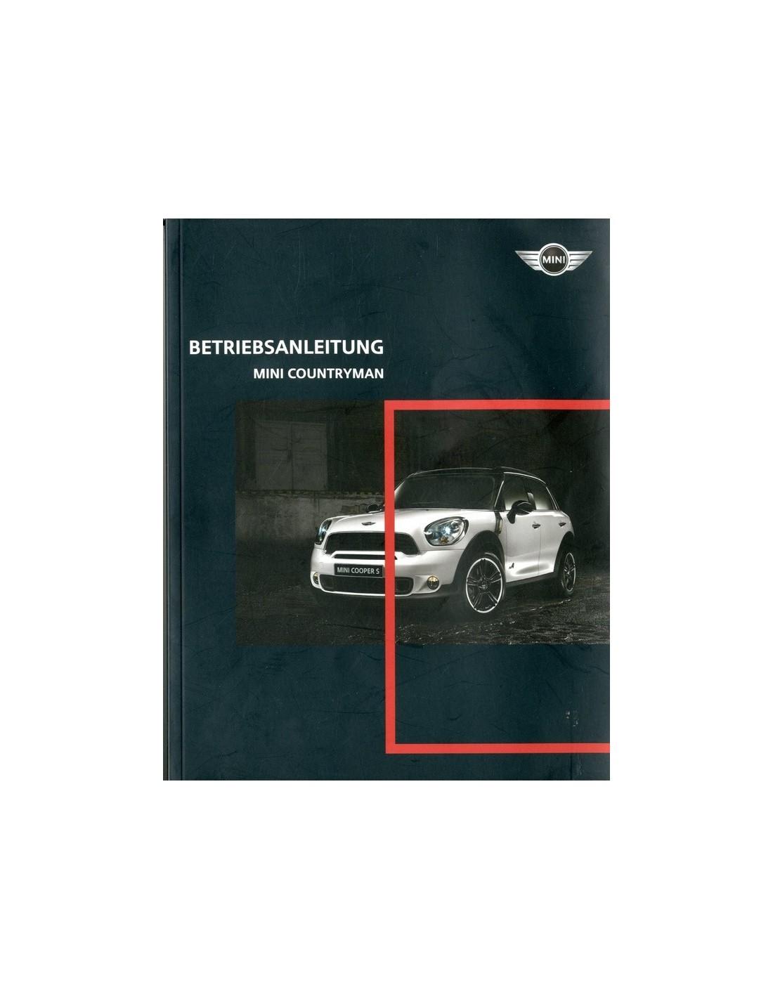 2010 mini countryman owner s manual german rh autolit eu 2010 mini cooper s clubman owners manual 2010 mini cooper s owners manual