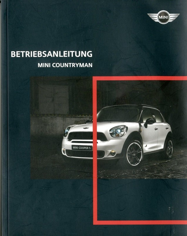 2010 mini countryman owner s manual german rh autolit eu 2010 Mini Cooper Radio Wiring Mini Cooper USA