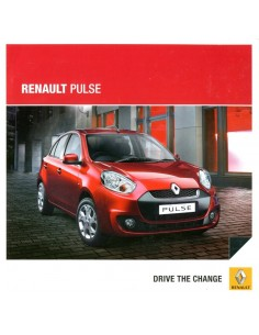 2014 RENAULT PULSE BROCHURE ENGELS