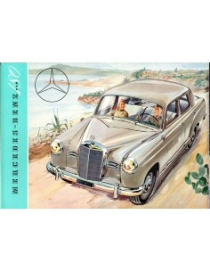 1953 MERCEDES BENZ 180 BROCHURE DUITS
