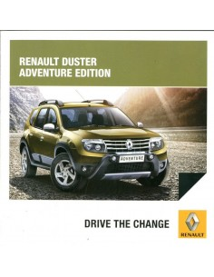 2014 RENAULT DUSTER ADVENTURE EDITION BROCHURE ENGELS