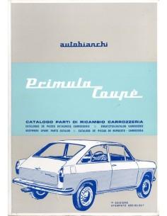 1966 AUTOBIANCHI PRIMULA COUPE ONDERDELENHANDBOEK CARROSSERIE