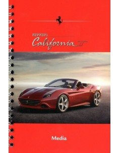 2014 FERRARI CALIFORNIA T MEDIA BROCHURE ENGELS