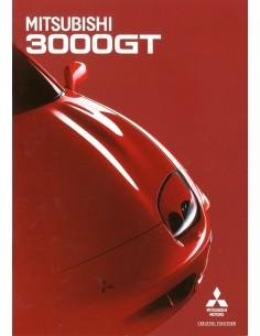 1997 MITSUBISHI 3000GT BROCHURE NEDERLANDS