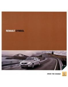 2011 RENAULT SYMBOL BROCHURE SPAANS
