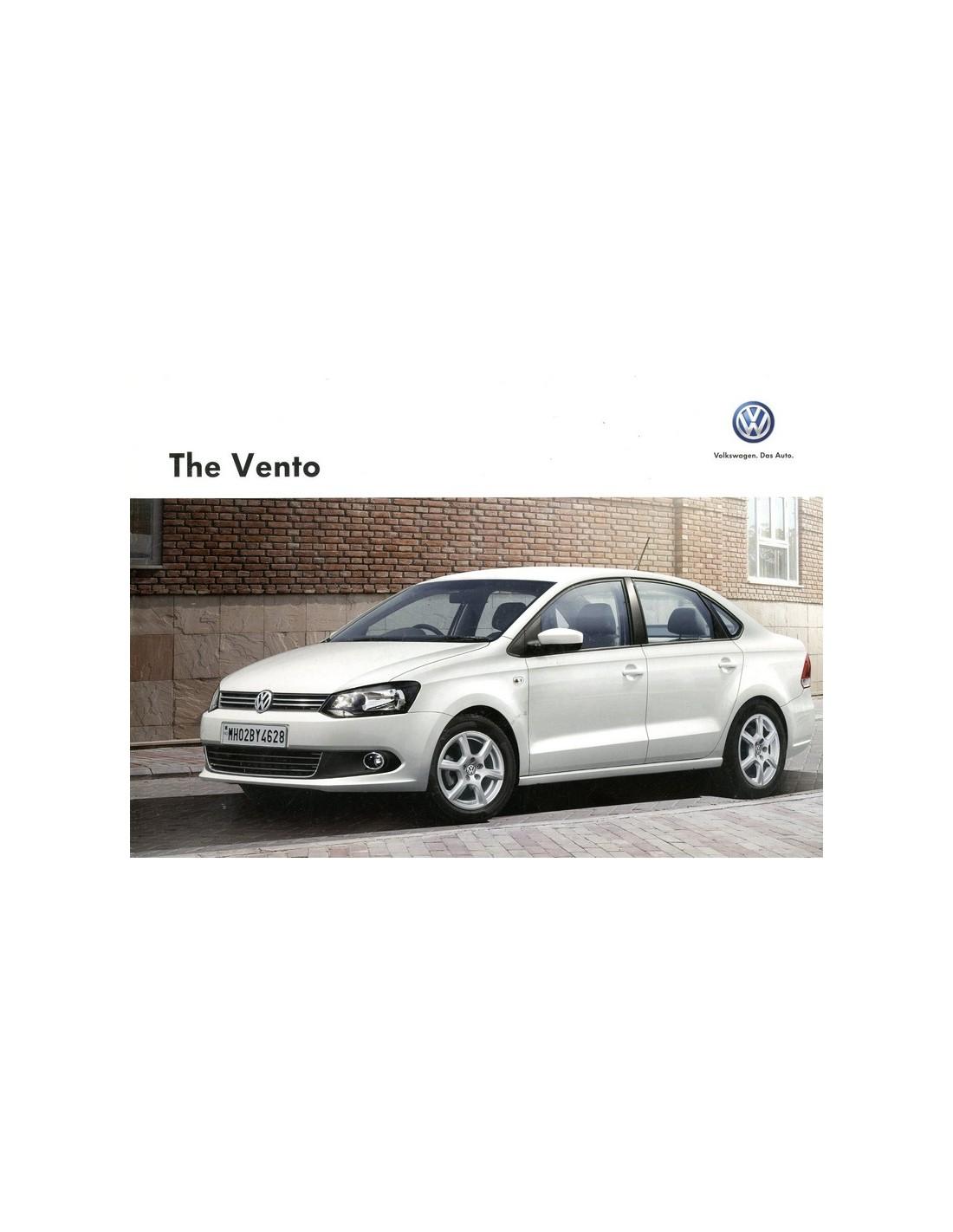 2013 Volkswagen Vento Brochure Engels