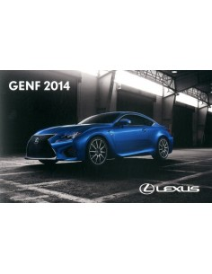 2014 LEXUS GENEVE PERSMAP DUITS + USB