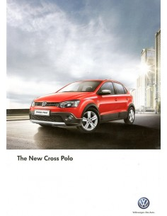 2013 VOLKSWAGEN CROSS POLO BROCHURE ENGELS