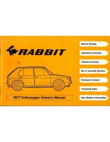 1977 volkswagen rabit owner s manual english rh autolit eu volkswagen rabbit 2007 owner's manual 2007 volkswagen rabbit owners manual pdf