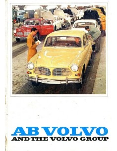 1966 VOLVO PROGRAMMA BROCHURE ENGELS