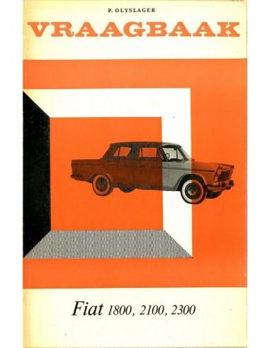 1959 1966 fiat 1800 2100 2300 vraagbaak nederlands for 2100 2300