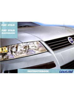 2002 FIAT STILO + MULTIWAGON INSTRUCTIEBOEKJE NEDERLANDS