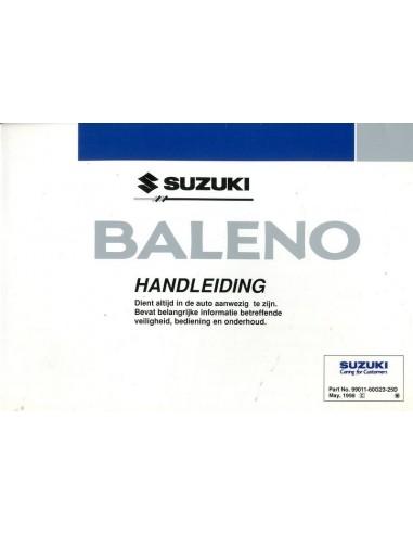 1998 suzuki baleno owner s manual handbook dutch rh autolit eu suzuki baleno 2016 service manual maruti suzuki baleno service manual