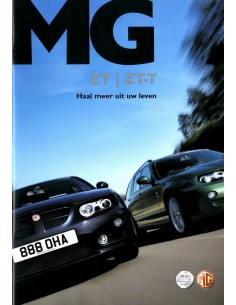 2004 MG ZT ZT-T BROCHURE NEDERLANDS