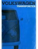 1962 VOLKSWAGEN T1 TRANSPORTER INSTRUCTIEBOEKJE NEDERLANDS