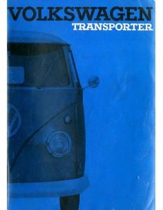 1963 VOLKSWAGEN T1 TRANSPORTER BETRIEBSANLEITUNG NIEDERLÄNDISCH