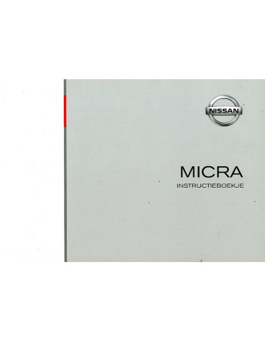 2003 nissan micra owners manual dutch