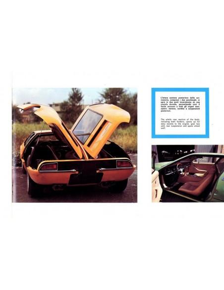 1971 DE TOMASO MANGUSTA BROCHURE