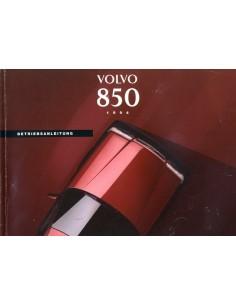 1994 VOLVO 850 INSTRUCTIEBOEKJE DUITS
