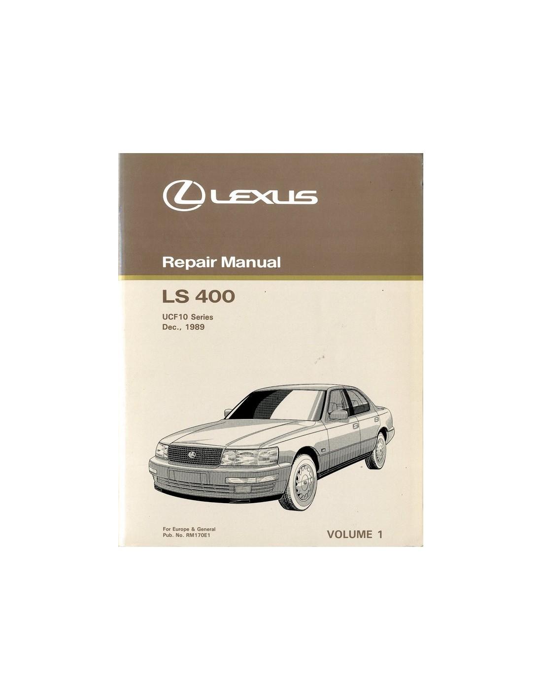 1990 lexus ls 400 chassis body repair manual english rh autolit eu ls400 manual pdf lexus rx 400h manual