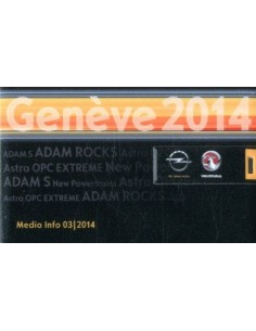 2014 OPEL & VAUXHALL GENEVE PERSMAP USB