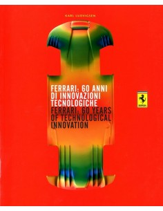 2007 FERRARI 60 YEARS OF TECHNOLOGICAL INNOVATION BOEK IT/GB 3063/07