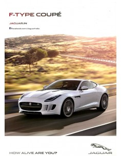 2014 JAGUAR F TYPE COUPÉ BROCHURE ENGELS