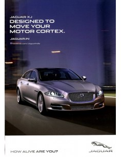 2014 JAGUAR XJ LONG WHEELBASE SHEET ENGELS