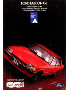 1983 FORD FALCON BROCHURE ENGELS