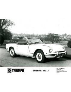 1967 TRIUMPH SPITFIRE MK 3 PERSFOTO