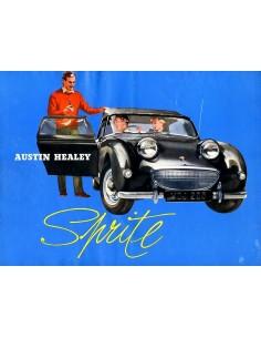 1958 AUSTIN HEALEY SPRITE BROCHURE ENGELS