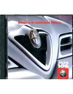 2000 ALFA ROMEO 166 BENZINE & DIESEL WERKPLAATSHANDBOEK CD