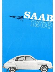 1966 SAAB BROCHURE ENGELS