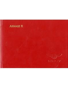 2003 BENTLEY ARNAGE R BOORDMAP DUITS