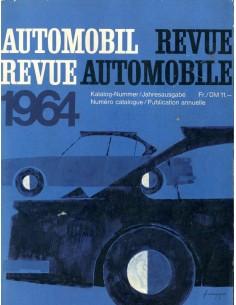 1964 AUTOMOBIL REVUE JAARBOEK DUITS FRANS