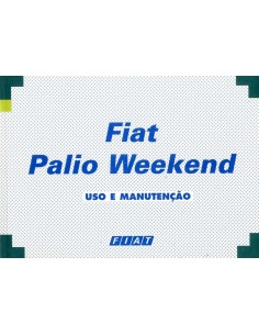2000 FIAT PALIO WEEKEND INSTRUCTIEBOEKJE PORTUGEES