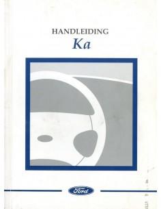 1997 FORD KA INSTRUCTIEBOEKJE NEDERLANDS
