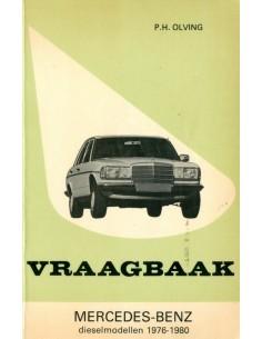 1976 - 1980 MERCEDES BENZ E KLASSE W123 DIESEL VRAAGBAAK NEDERLANDS