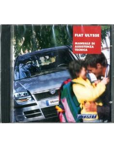 2002 FIAT ULYSSE BENZINE & DIESEL WERKPLAATSHANDBOEK CD