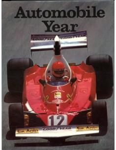 1975/76 AUTO-JAHR JAARBOEK N° 23 ENGELS