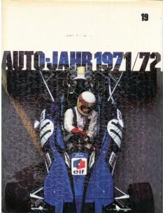1971/72 AUTO-JAHR JAARBOEK N° 19 DUITS