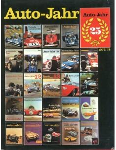 1977/78 AUTO-JAHR JAARBOEK N° 25 DUITS