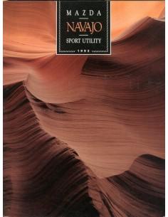 1993 MAZDA NAVAJO BROCHURE ENGELS